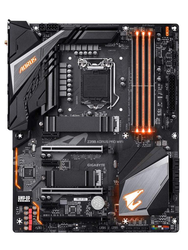Gigabyte Z390 AORUS PRO WIFI Scheda Madre Socket LGA1151