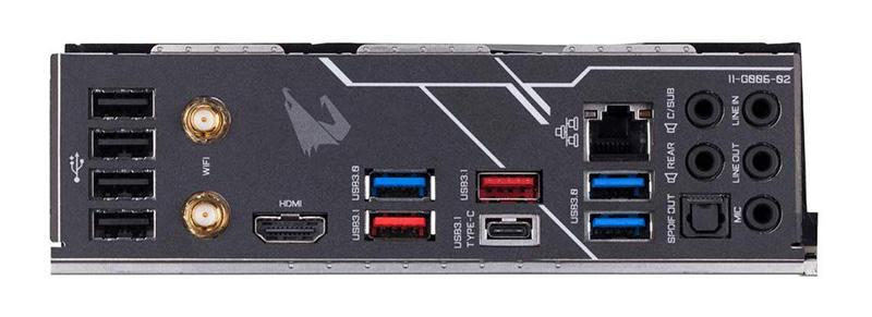 Gigabyte Z390 AORUS PRO WIFI Scheda Madre Socket LGA1151 CONNESSIONE