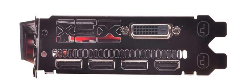 Uscite video scheda video Radeon RX 590 8 GB