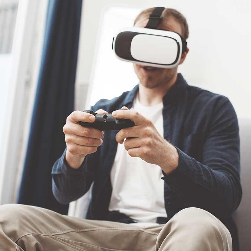 Scheda video per VR realtà virtuale Oculus Rift