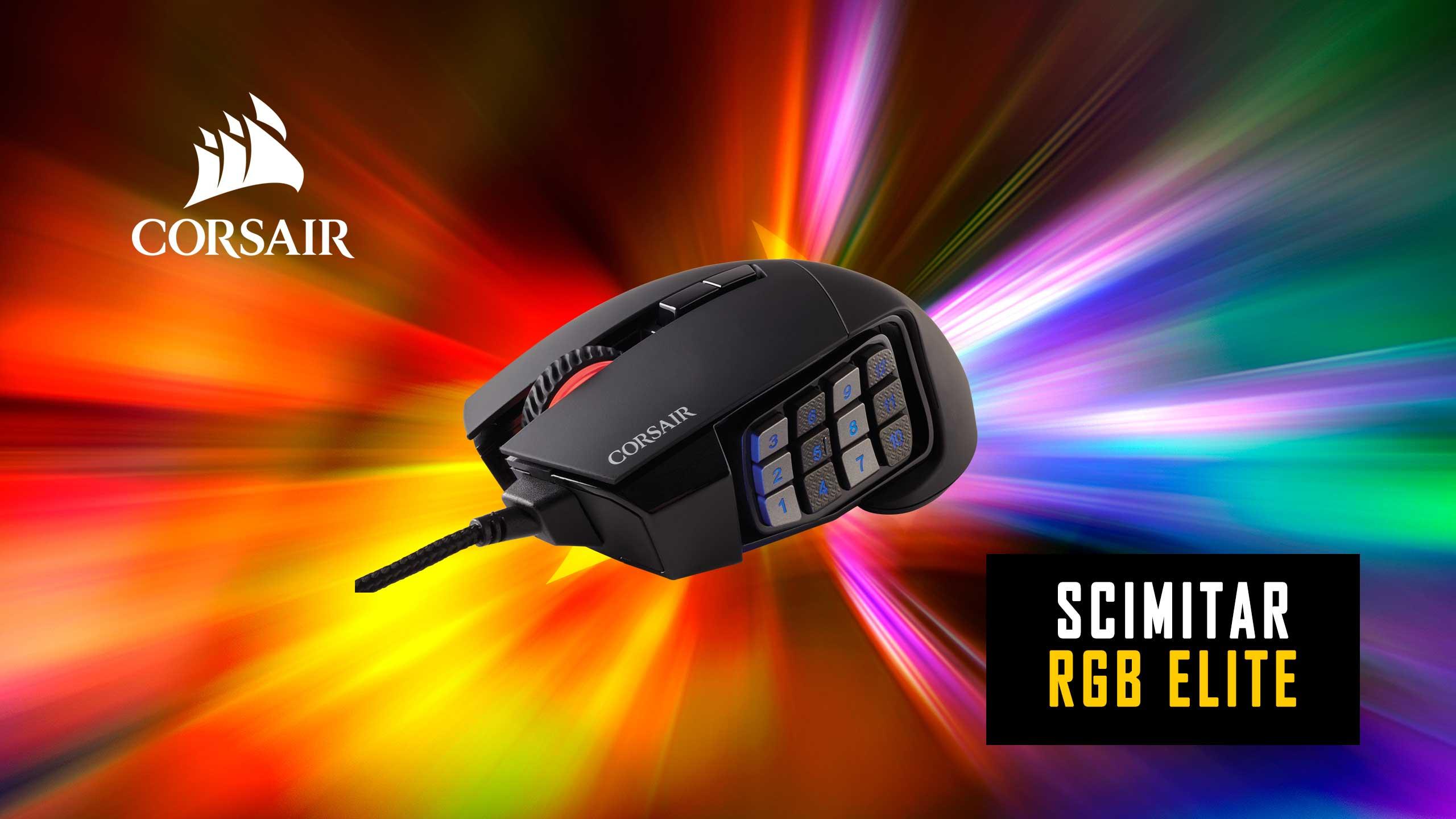 Corsair Scimitar RGB ELite Recensione