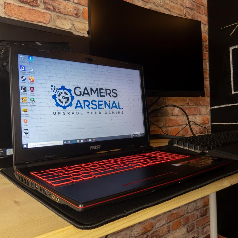 MSI GL63 8SD recensione notebook gaming