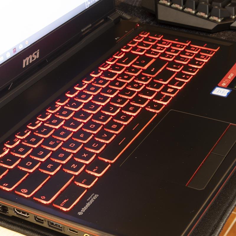 MSI GL63 8SD tastiera