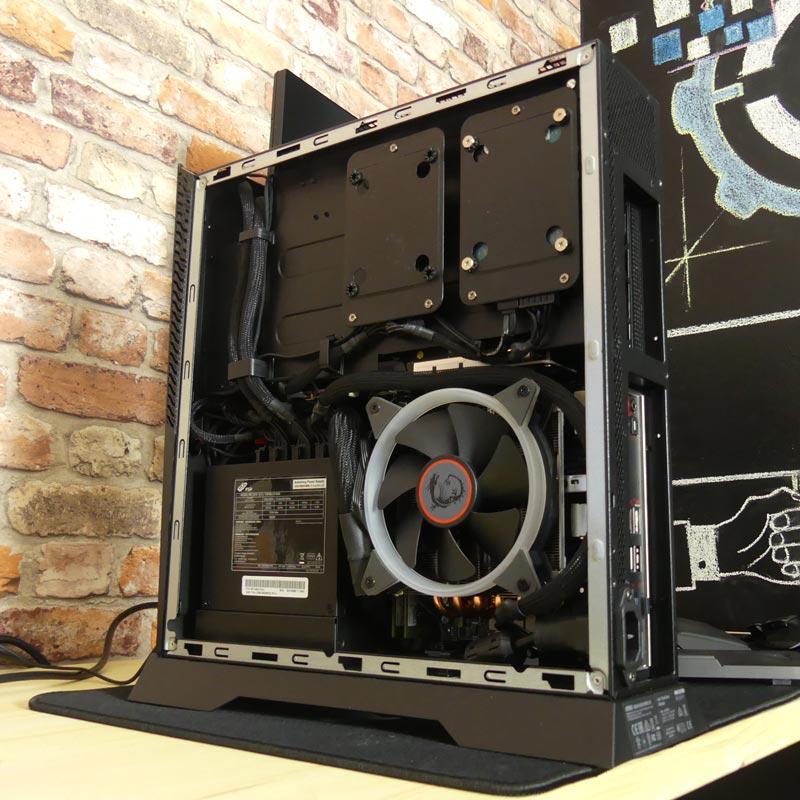 MSI trident X lato CPU e  disk