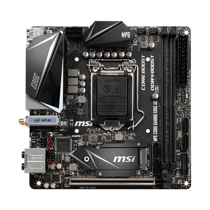Scheda Madre MSI MGP Z390I GAMING EDGE-AC