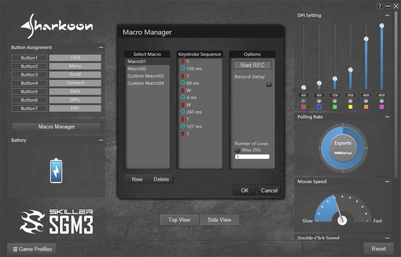 Software Sharkoon SGM3 2