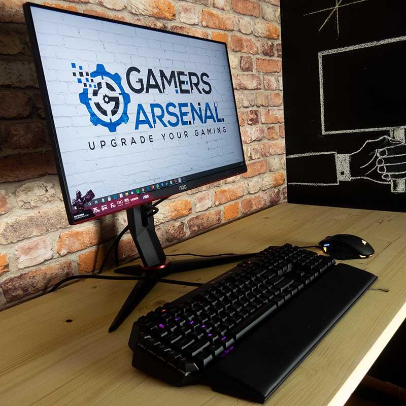 recensione monitor gaming aoc 2