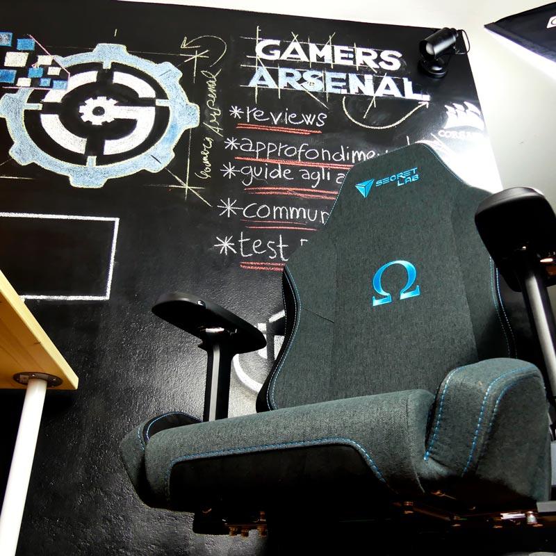 recensione sedia gaming-secretlab softweave grigia