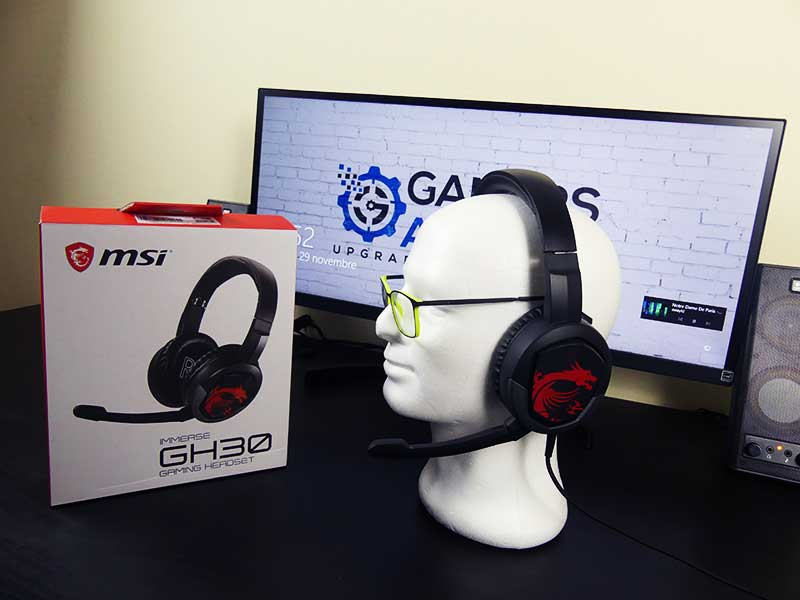 MSI GH 30 cuffie gaming test