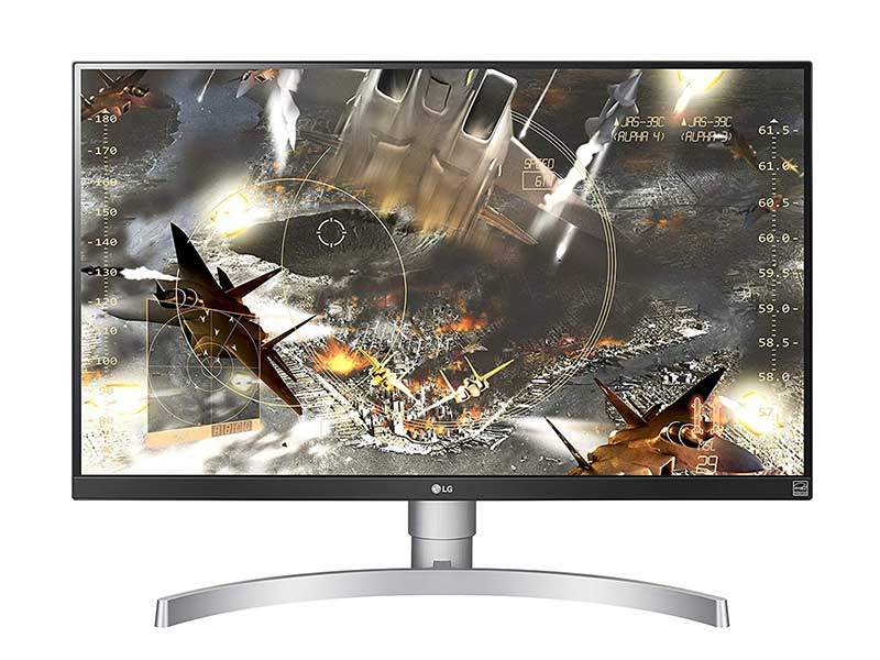 monitor 4k gaming ips LG 27UL650-2