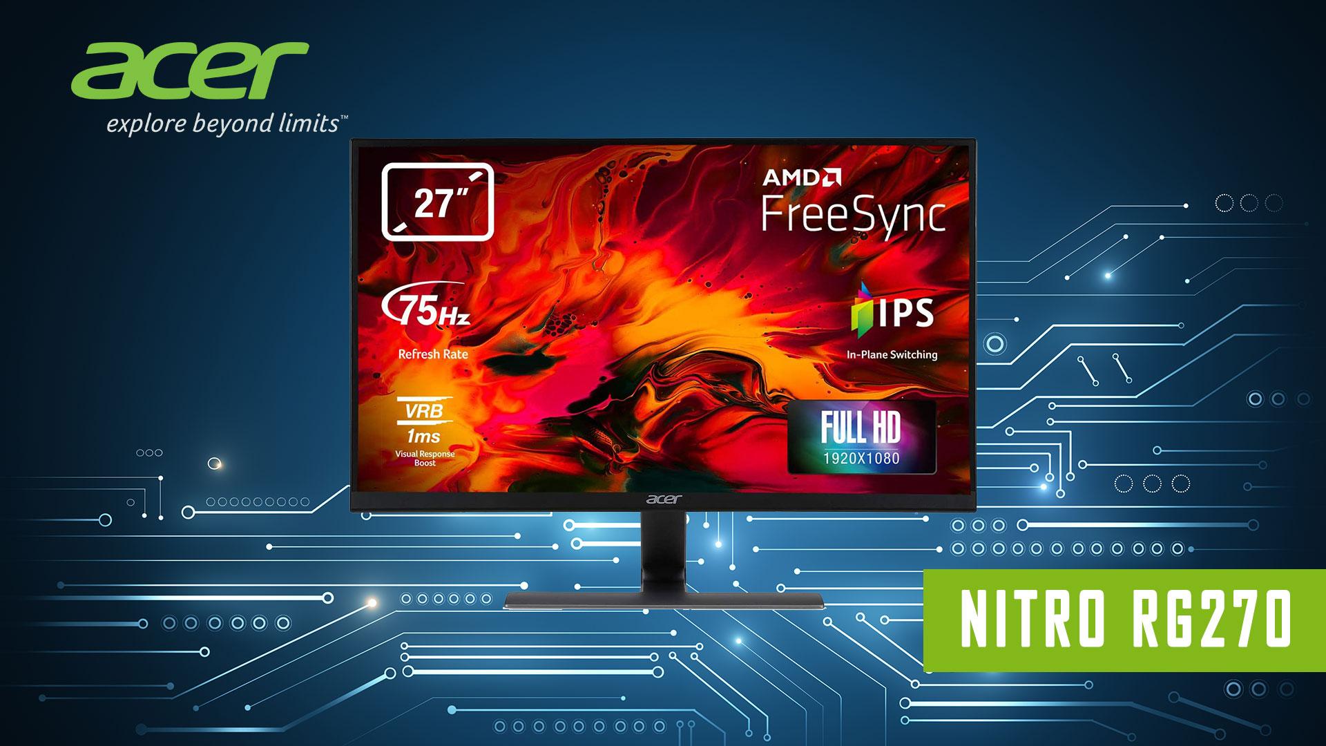 Acer Nitro RG270bmiix Recensione