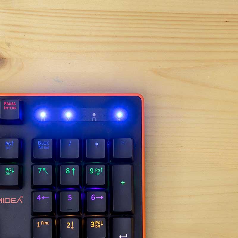 Funzionalità tastiera