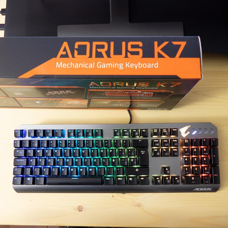Tastiera gaming aorus k7