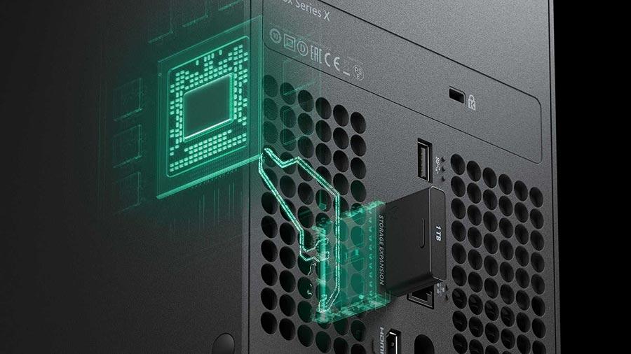 Xbox Series X SSD NVME