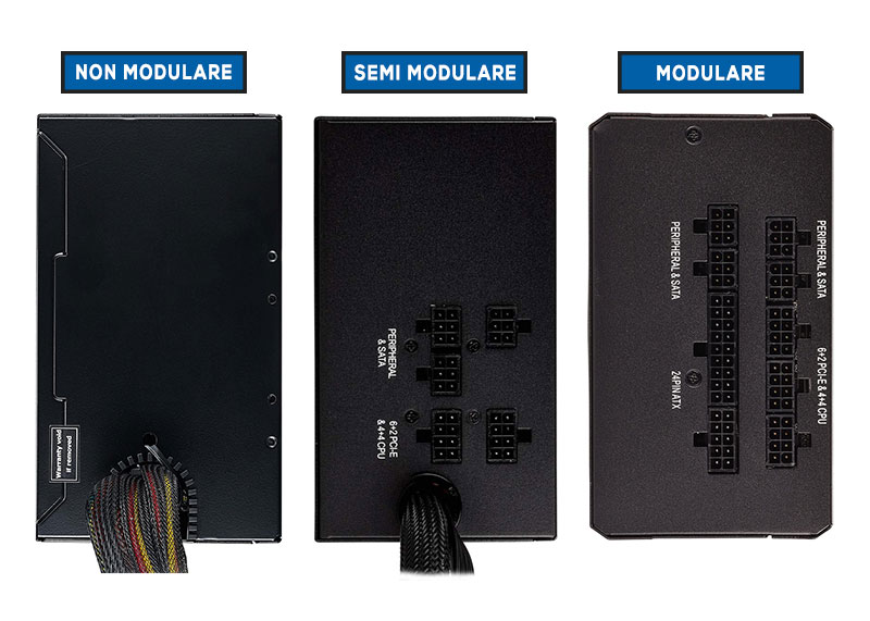alimentatori modulari semi modulari non modulari