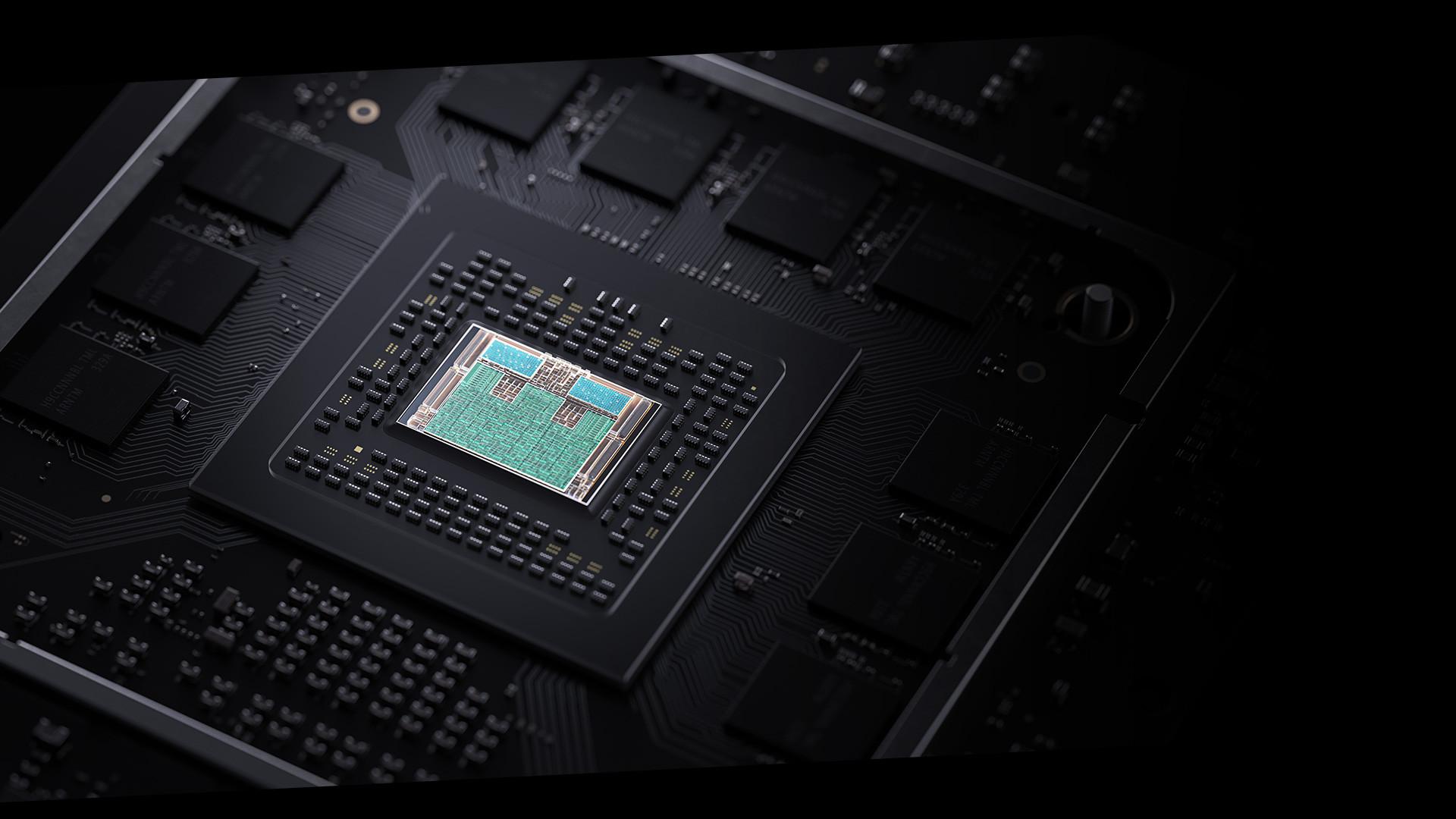 immagine della CPU di Xbox Seriex X