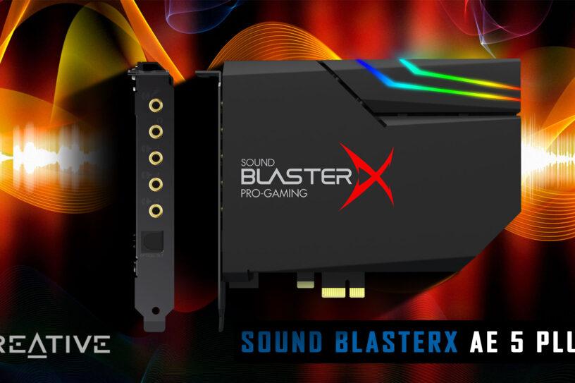 Sound BlasterX AE 5 Plus recensione trst