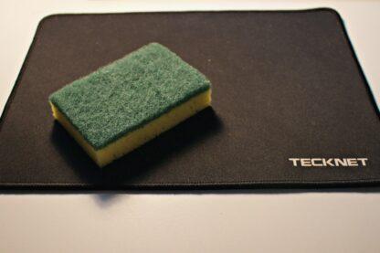 Lavare il mouse pad