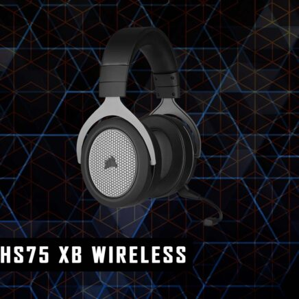 Corsair HS 75 XB wireless recensione