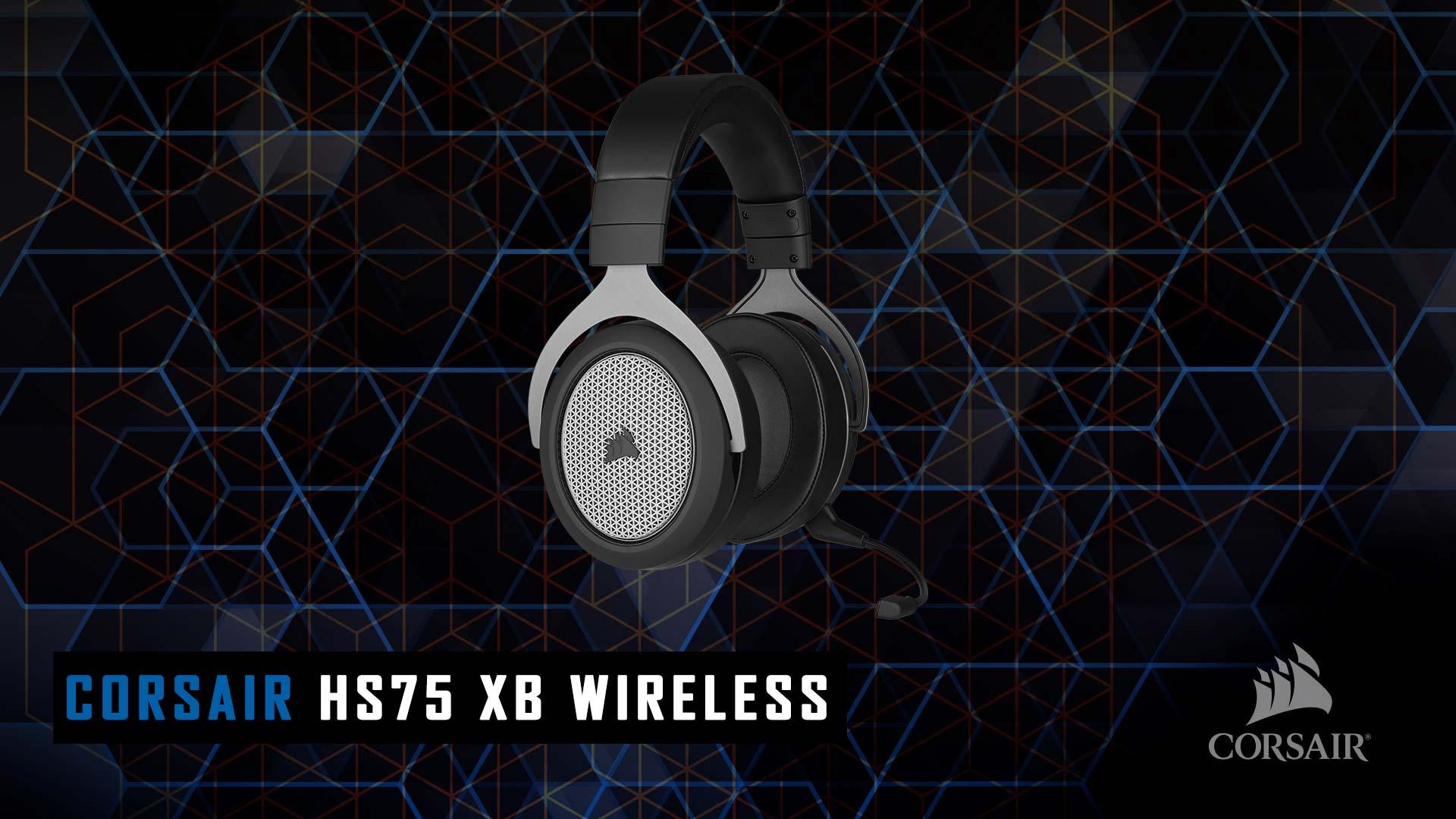 Corsair HS 75 XB wireless recensione