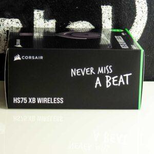 Corsair HS 75 XB wireless unboxing 3
