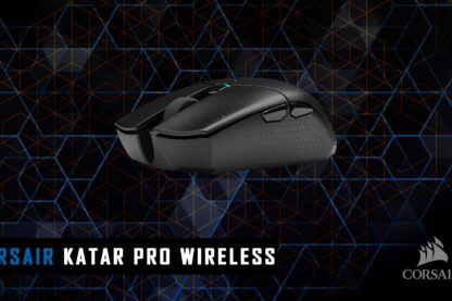 Corsair Katar Pro wireless recensione