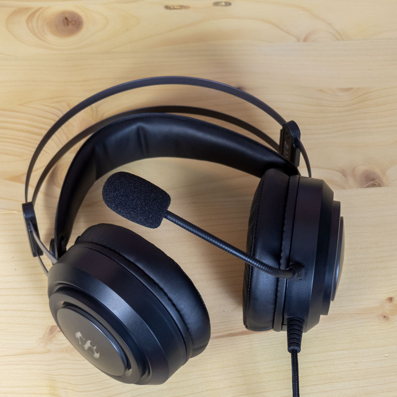 Sharkoon SGH30 microfono2