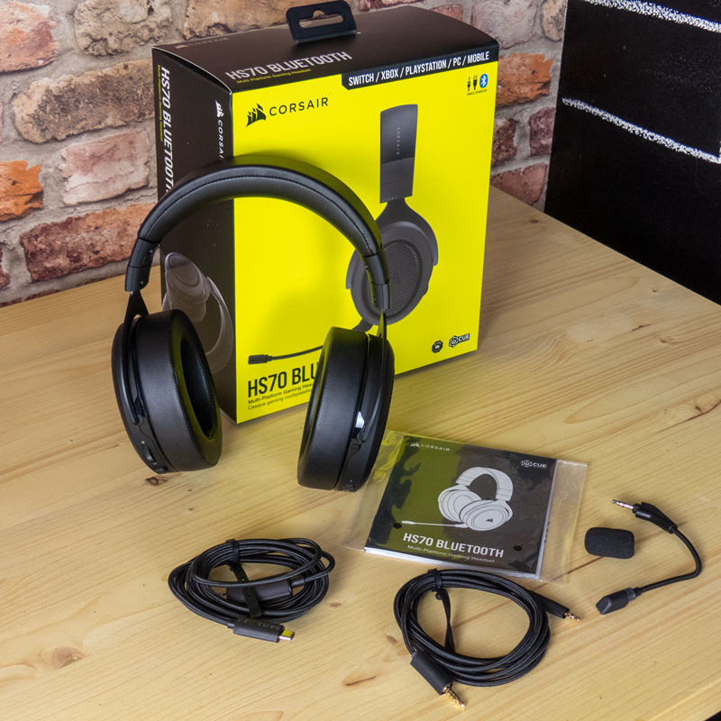unboxing cuffie hs70 bluetooth